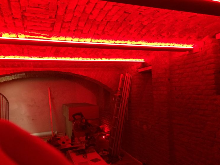LOXONE LED Streifen im Keller